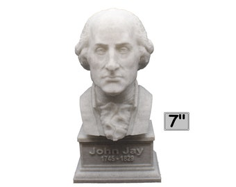 John Jay Founding Father 7 inch 3D Printed Bust