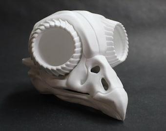 Owl Skull Bonehead by 3DKitbash