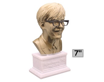 Dr. Stephen Hawking (Young) Famous British Theoretical Physicist 7 inch 3D Printed Bust