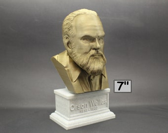 Orson Welles American Actor, Director, Writer, and Producer 7 inch 3D Printed Bust