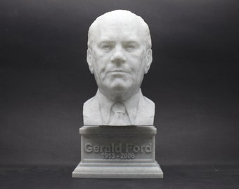 Gerald Ford USA President #38 7 inch 3D Printed Bust