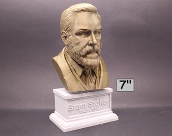 Bram Stoker Irish Writer 7 inch 3D Printed Bust