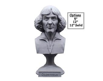 Nicolaus Copernicus Renaissance-era Polymath 3D Printed Bust