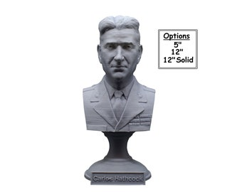 "Carlos ""White Feather"" Hathcock Legendary US Marine Corps Marksman Sniper USMC 3D Printed Bust"