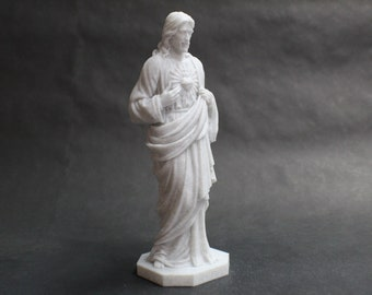 Jesus with Sacred Heart Original Sculpture FDM 3D Printed Statue