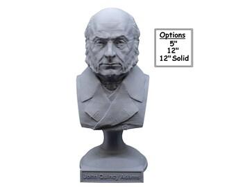 John Quincy Adams USA President #6 5 inch 3D Printed Bust