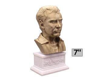 Jack Kerouac American Novelist 7 inch 3D Printed Bust
