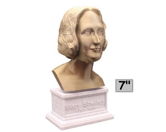 Mary Shelley, English Novelist 7 inch Bust