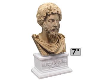 Marcus Aurelius Roman Emperor and Philosopher 7 inch Bust