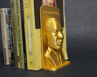 Martin Luther King (MLK) and Other Famous Activists 3D Printed Bookend Book Frame