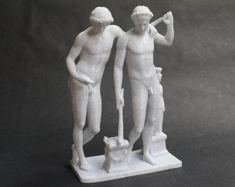 Castor and Pollux (polydueces, gemini, Castores, Dioscuri) 3D Printed Statue Replica