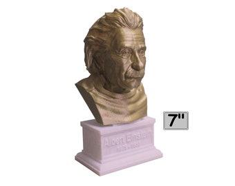 Albert Einstein Famous German Physicist and Mathematician 7 inch Bust