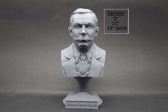 Wells 3D Printed Bust Famous English Science Fiction Writer Art FREE SHIP H.G