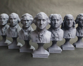 USA Founding Fathers Collection 5 inch Busts (7 Total)