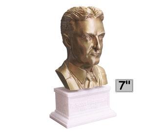 F. Scott Fitzgerald, Famous American Writer 7 inch Bust
