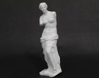 Aphrodite of Milos (Venus De Milo) 8in 3D Printed Statue from Louvre Museum in Paris