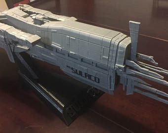 The BIG Sulaco - Colonial Marine Battle Ship from Aliens