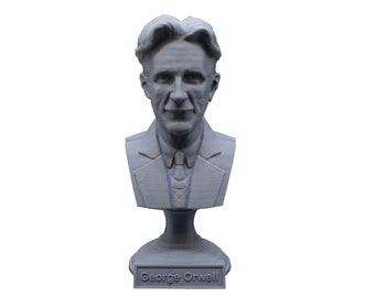 George Orwell Famous English Novelist 5 inch Bust