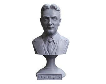 F. Scott Fitzgerald, Famous American Writer 5 inch Bust