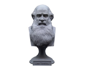 Leo Tolstoy Russian Writer 5 inch Bust