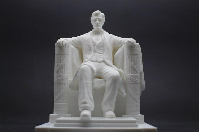 Lincoln Memorial Monument Replica