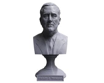 Franklin Delano Roosevelt FDR USA President #32 5 inch Bust