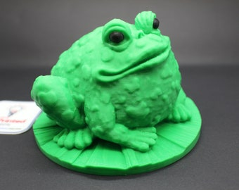 Garden Toad 3D Printed Ornament Decoration