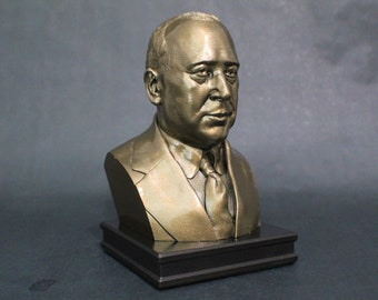 C.S. Lewis 8 inch Premium Bust Solid Hand Finished Original Dated Sculpture
