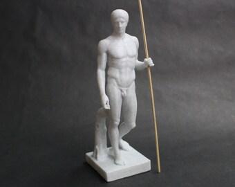 DoryPhoros of Polykleitos (the Spear Bearer) 3D Printed Statue Replica
