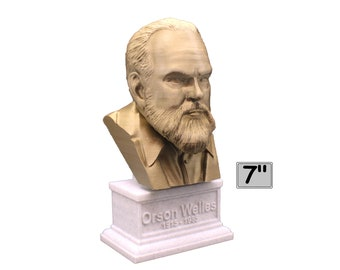 Orson Welles American Actor, Director, Writer, and Producer 7 inch Bust