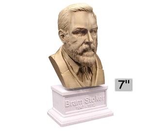 Bram Stoker Irish Writer 7 inch Bust