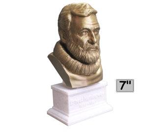 Ernest Hemingway American Journalist, Novelist, Short Story Writer, and Sportsman 7 inch Bust