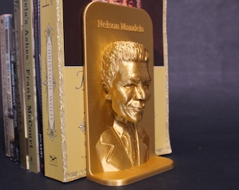 Nelson Mandela and Other Famous Activists 3D Printed Bookend Book Frame