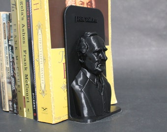 J.R.R Tolkien and Other Famous Authors 3D Printed Bookend Book Frame