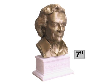 Richard Feynman Famous American Physicist and Mathematician 7 inch Bust