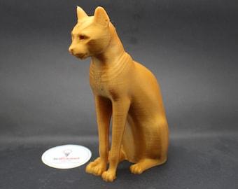 Gayer Anderson Cat Egyptian Deity Bastet Replica 3D Printed Sculpture Replica