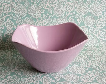 1950s Midwinter Stylecraft Fashion Shape Sugar Bowl - Purple or Lavender Colour - Made in England - 3-62