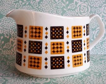 1970's Elizabethan Bone China Checkmate Jug - Excellent Condition