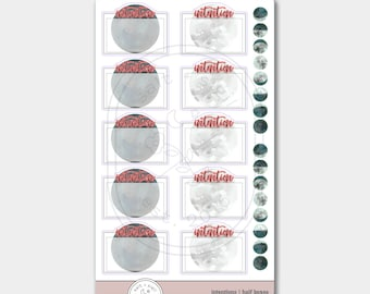 Lunar Intentions // HALF boxes