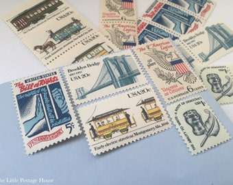 America | Vintage Stamps | Unused Postage Stamps | For 5 Letters | 52 Cents