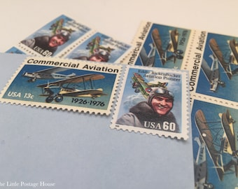 Aviation | Vintage Stamps | Unused Postage Stamps | For 5 Letters | 73 Cents