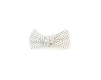 Knotted Bow | Black Dot