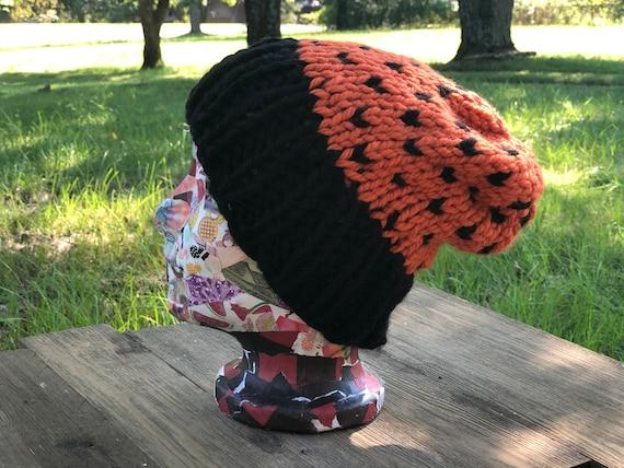slouchy beanie hats Halloween