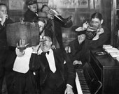 End of Prohibition Celebration - 1933 - Photo - Speakeasy - Bootlegging - Whiskey - Tavern - Beer - Bar - Man Cave - Wall Art - NYC, Chicago