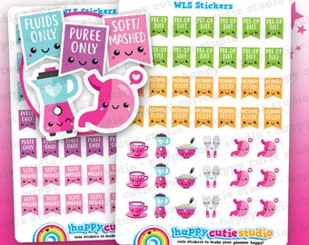 95 Cute Weight Loss Surgery/Bariatric/Gastric/Stomach Planner Stickers