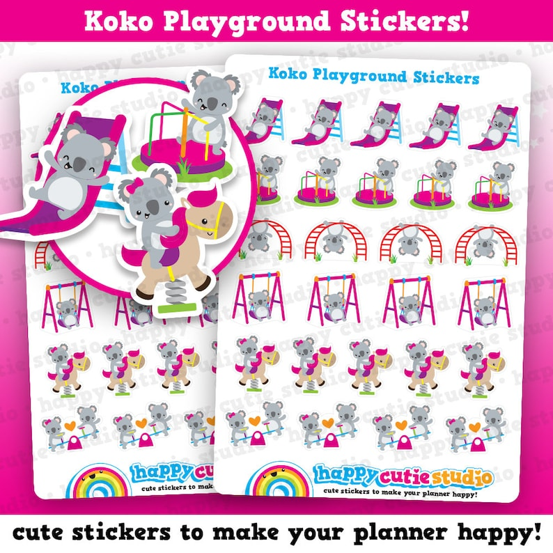 27 Cute Koko The Koala/Kiko Playground/Park/Children/Kids image 0