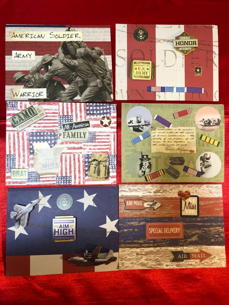 Military thinking of you Military appreciation military family ww2 vetera World War Two Greeting card thank you card,veterans day