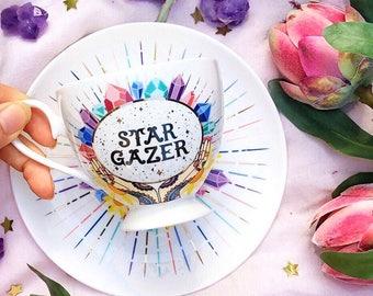 Star Gazer - Teacup & Saucer