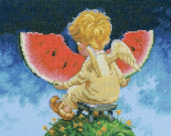 Counted Cross Stitch Kit RTO Color outside your lines
