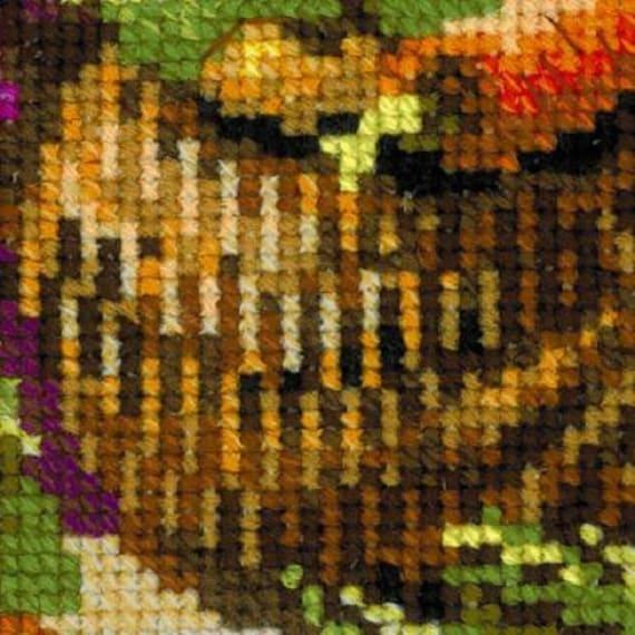 130-001 KIT Punto Croce Pavone ART